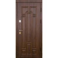 Входные Двери Арка  дуб бронзовый (две трубы, улица)