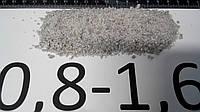 Пісок кварцовий фракція 0,8-1,2