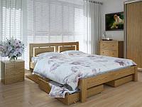 Кровать MeblikOff Пальмира с ящиками (160*190) дуб
