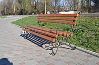 Кованая скамейка 2 м.