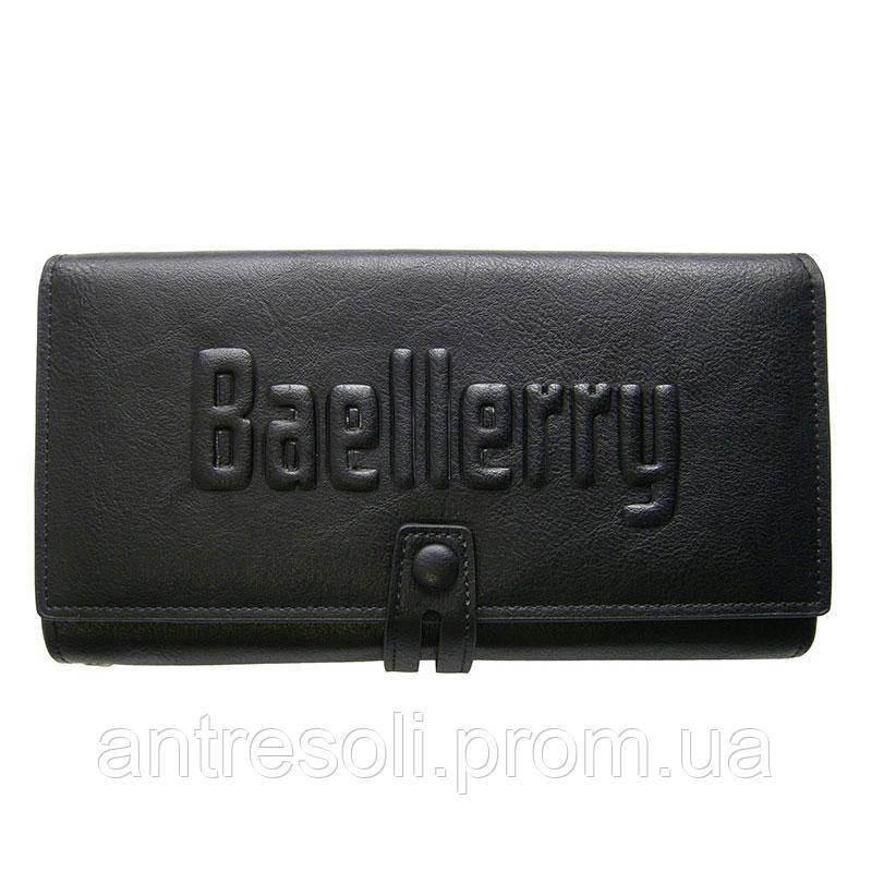 Портмоне, кошелек, клатч, кожаный кошелек, Baellerry S1393, мужское по