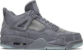 "Кроссовки Kaws x Jordan 4 Retro ""Cool Grey"""