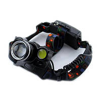 Фонарик, налобный фонарь, фонарик на голову, Bailong Police BL-878 T6 COB, фонарь налобный аккумуляторный