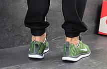 Мужские кроссовки Nike Free Run 4.0,сетка,зеленые 43р, фото 3