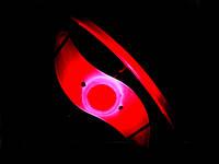 Силиконовая светодиодная подсветка для колеса велосипеда  Красный