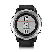 Спортивные часы GARMIN Fenix 3 HR (black-silver)