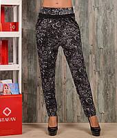 Женские штаны со стразами Zoloto A715-7. Размер 42-46