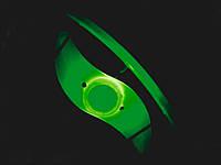 Силиконовая светодиодная подсветка для колеса велосипеда  Зеленый, фото 1