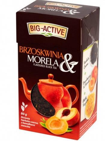 Чай листовой Big-Active Brzoskwinia & Morela 80 г, фото 2