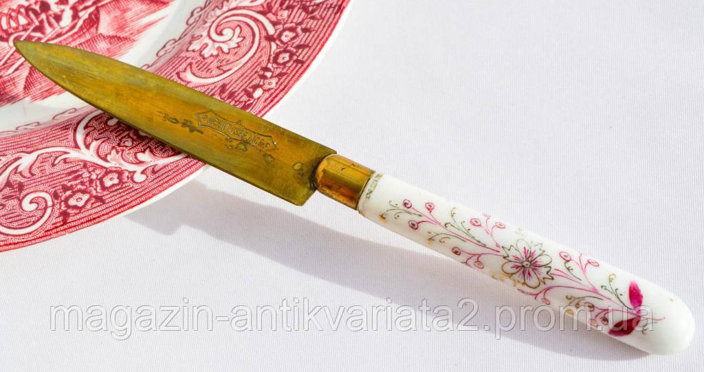 Шикарный антикварный нож для фруктов! UCHATIUSBRONCE!