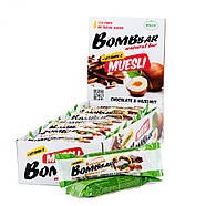 BomBBar Батончик-мюсли Шоколад-фундук, фото 2