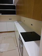 Стільниця з кварцового каменю АТЕМ White 0017, фото 3