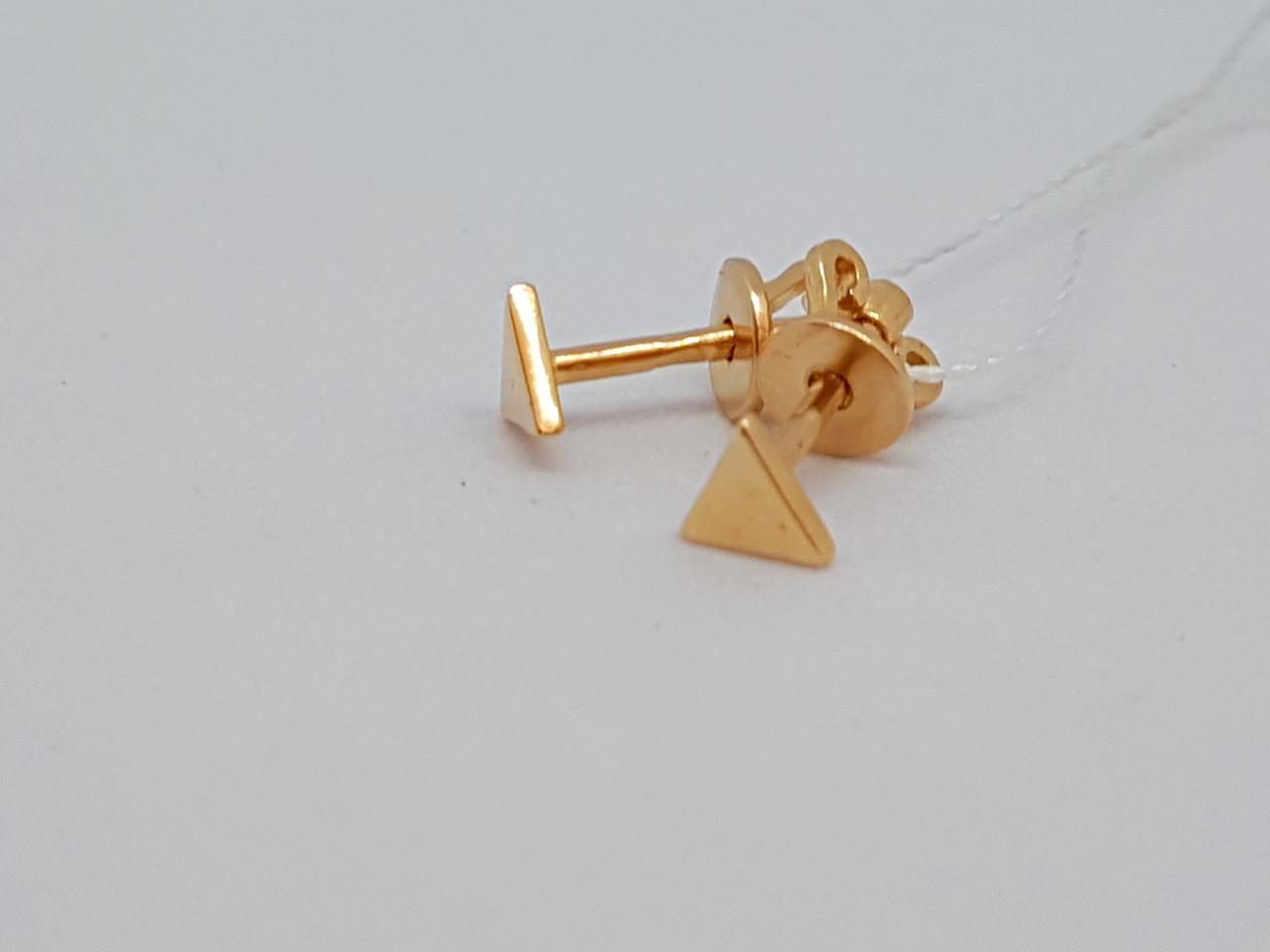 Золоті сережки-пуссети. Артикул СП289И