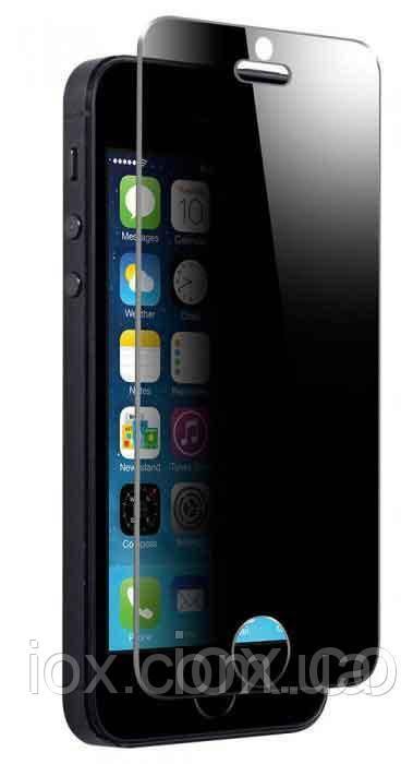 """Захисне глянсове преміум скло з фільтром конфіденційності """"PRIVACY"""" iPhone 7 Plus /8Plus (5.5"""")"""