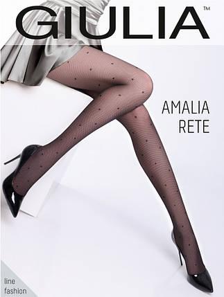 Колготки женские с узором Amalia Rete 40, фото 2