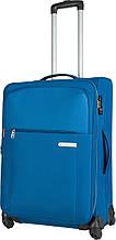 Чемодан средний тканевый Carlton X-PLUS 108J468;04 73 л. синий
