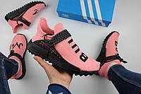 Кроссовки женские Adidas Human Race NMD TR Pink/Black / NR-NKR-1503 (Реплика)