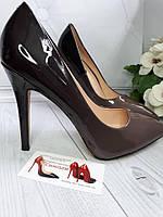 Омбре темно туфли женские в  наличии , фото 1