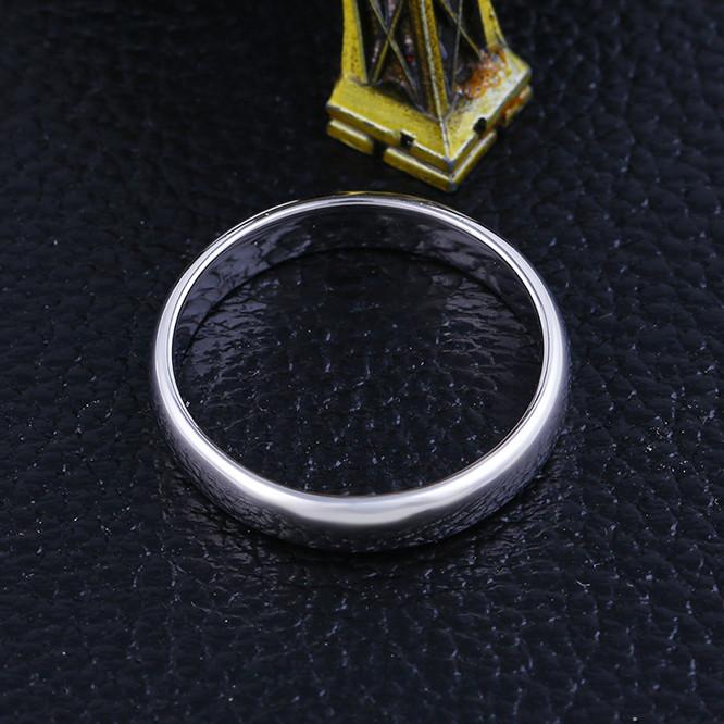 Кольцо обручальное 10762 размер 22, ширина 4 мм, позолота Белое Золото