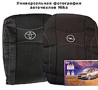 Авточехлы LADA КАЛИНА sedan 2004-11г.з/сп и сид.1/3 2/3;2подгол. (Econom) Nika