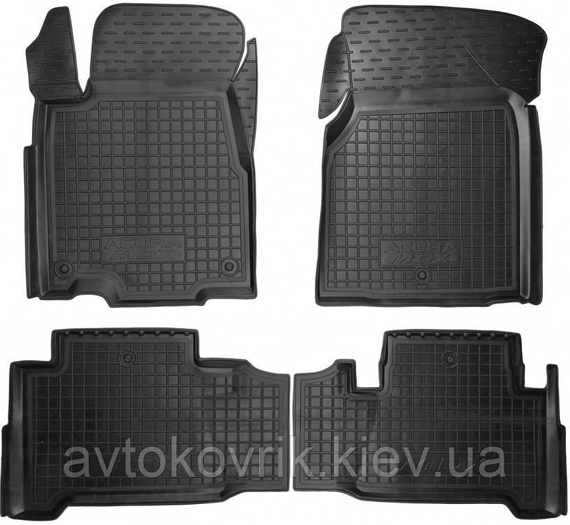 Полиуретановые коврики в салон Acura MDX II 2006-2014 (AVTO-GUMM)