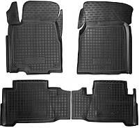 Полиуретановые коврики для Acura MDX II 2006-2014 (AVTO-GUMM)