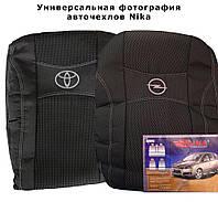 Авточехлы LADA КАЛИНА 2118 sedan 2004-11г.з/сп и сид.1/3 2/3;2подгол. Nika