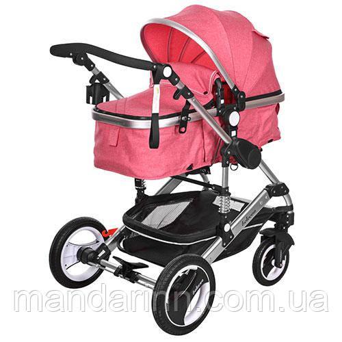 Детская универсальная коляска 535-Q3-PINK