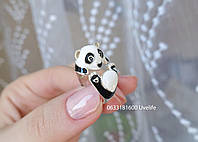Кольцо Безразмерное Панда