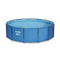 Каркасный бассейн Bestway 56416 (366х76) с картриджным фильтром, фото 1