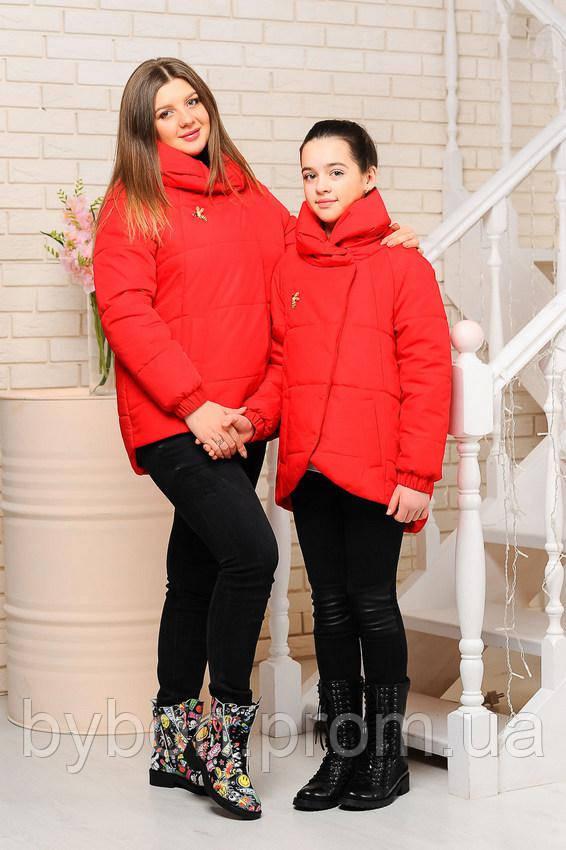 Куртка «Вероника», красная