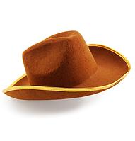 Шляпа ковбоя фетр