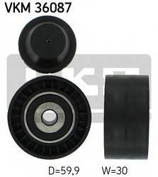 Направляющий ролик ремня генератора на Renault Dokker 2012-> 1.2 TCe — SKF (Швеция) - VKM 36087