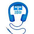 Проводные наушники Promate Flexure Kids Blue, фото 4