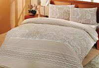Комплект постельного белья из ранфорс (хлопок) (евро размер)