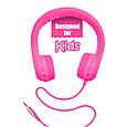 Проводные наушники Promate Flexure Kids Pink, фото 4