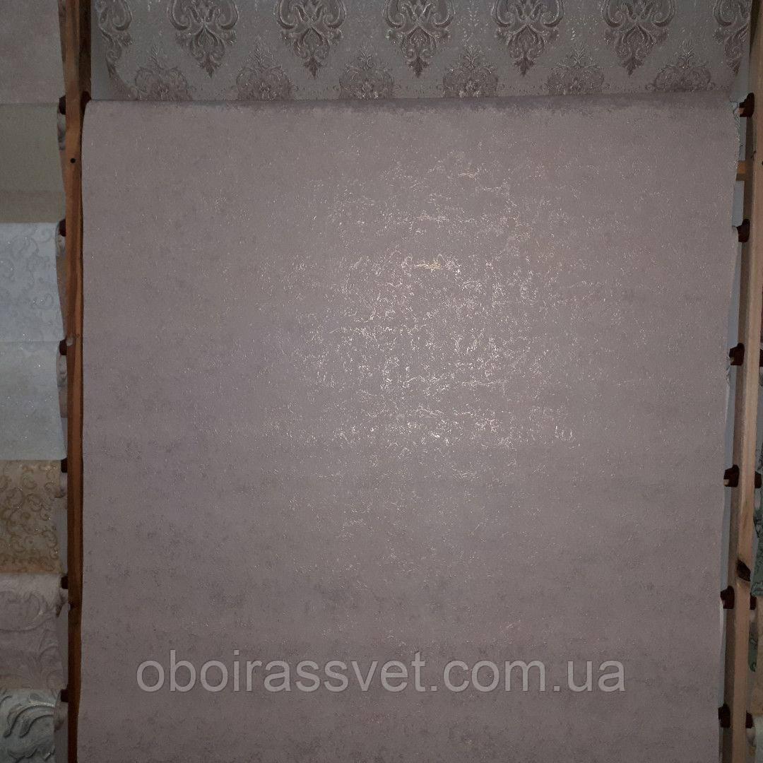 Обои Клайпеда 2 8538-06 винил горячего тиснения шелкография на флизелине 15 м ширина 1.06 м=5 полос по 3 м