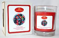 Свеча ароматическая в стакане Лесные ягоды, фото 1