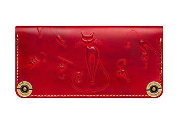 Шкіряний жіночий гаманець Catswill