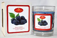 Свеча ароматическая в стакане Ежевичный джем, фото 1