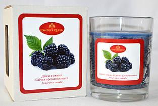 Свеча ароматическая в стакане Ежевичный джем