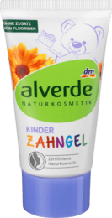 Дитяча зубна паста Alverde  Gel Kinder