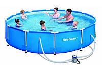 Каркасный бассейн Bestway 56408 (56059). Сборный Steel Pro Frame Pool 305 х 76 см