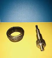 Шестерни привода спидометра Газ-53 к-т ведомая+ведущая Z-19 , фото 1
