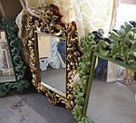 Классические зеркала для ванной Gold Art Line: изюминка ретро стиля