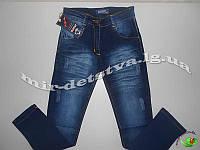 Подростковые джинсы для девочек, Турция оптом р.8-12 лет (4 шт в ростовке)