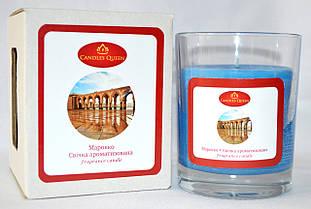 """Свеча парфюмированная в стакане """"Марокко"""""""