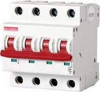 Модульний автоматичний вимикач e.industrial.mcb.100.3N.C25, 3р+N, 25А, C, 10кА
