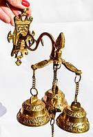 Шикарный дверной колокол,колокольчик! Бронза! РЕДКИЙ! Germany!, фото 1