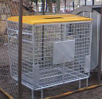 Контейнер для раздельного сбора ТБО с плоской крышкой , фото 1